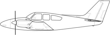 Beechcraft Baron 55 B, C, D, E