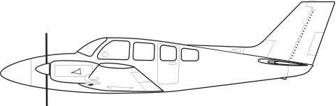 Beechcraft Baron 58TC, 58P