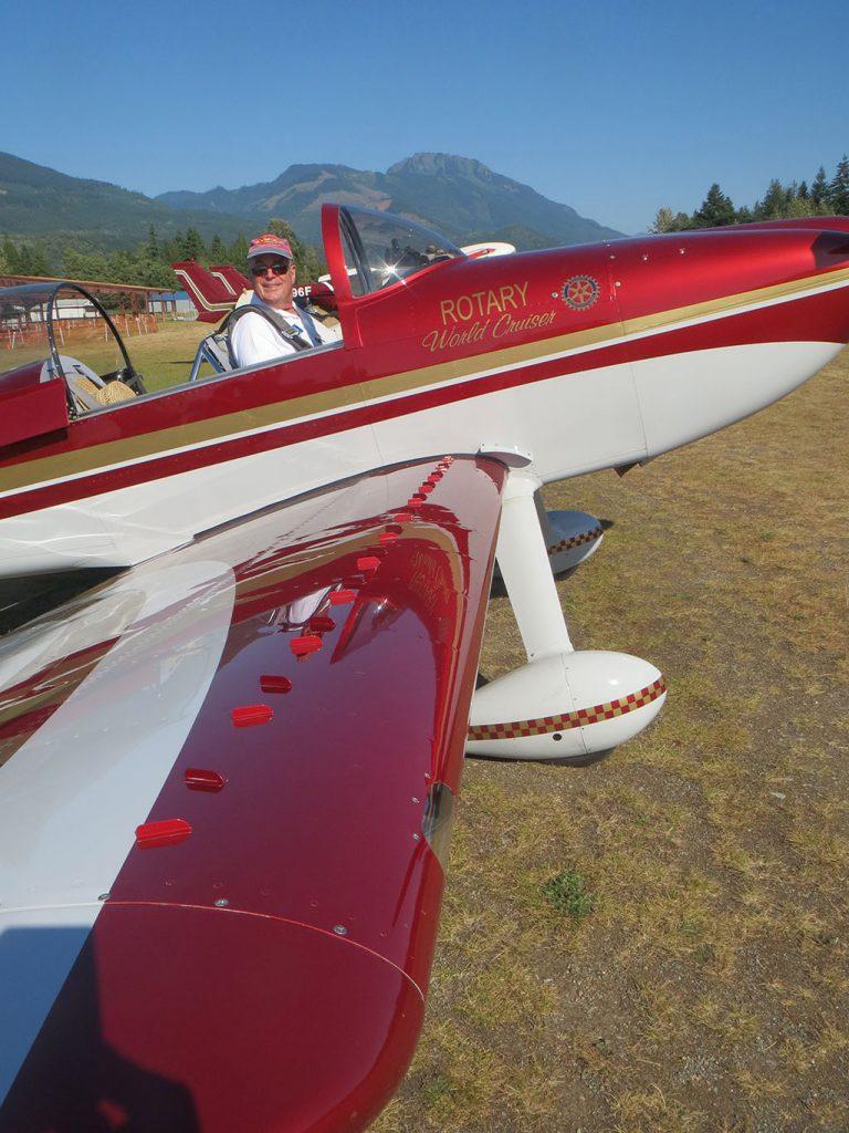 Kit Plane RV8 with Micro VGs