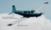 Mooney M20M with Micro VGs Marked Locations
