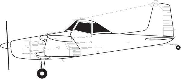 Cessna 188B Ag Plane