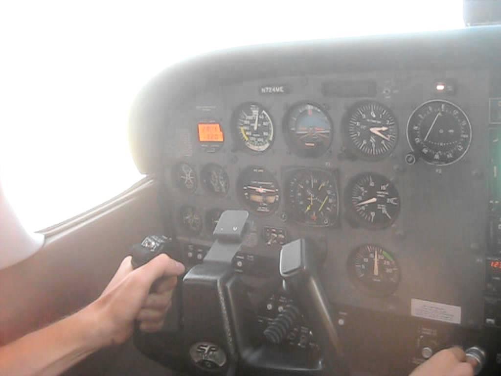 Vortex Generators on a C172 - Flying At 0 Knots!