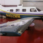 Piper PA-46-500TP Malibu Meridian with Micro VGs on Wing