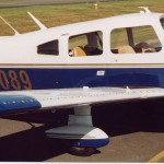 Piper PA-28-235 Cherokee with Micro VGs on Wing