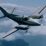 Beechcraft Duke 60 Test Flight with Micro VGs