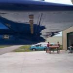 Kit Plane Glastar Micro VGs on underside of horizontal