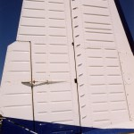 Beechcraft Travel Air Vertical Stabilizer with Micro VGs