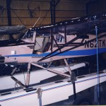 Kit Plane Tundra Air King on floats with Micro VGs