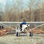 Piper J3 Cub with Micro VGs Owner Jerry Burr