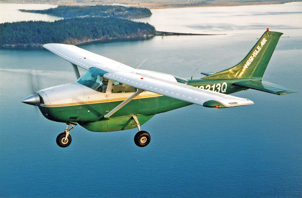 Cessna 206 with Micro VGs