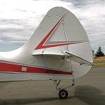 Aeronca Sedan 15AC Tail with Micro VGs