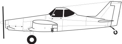 Piper PA-36-285 Brave Ag Plane