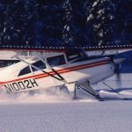 Maule M-7-235B on skis with Micro VGs