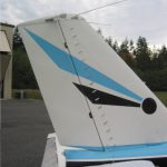 Piper PA-24 VGs on Tail