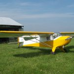 Taylorcraft BC12-D with Micro VGs