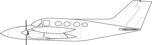 Cessna 421, 421A