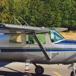 Cessna 150C with Micro VGs