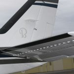 Hawker Beechcraft G58 Tail with Micro VGs