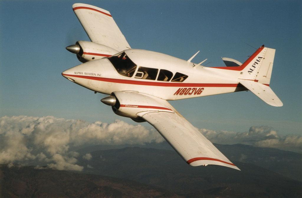 Piper PA-23 Apache Geronimo