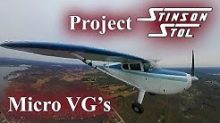 Project Stinson STOL with Micro VGs